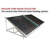 China Black Solar Energy Collectors , High Efficient Heat Pipe Solar Collector on sale