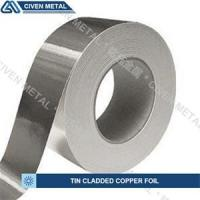 China Single / Double Side Tin Plated Copper Foil with corrosion protection on sale