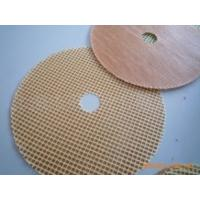 China Fiberglass Reinforced Mesh Disc For Grinding Wheel on sale