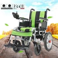 Various Color Portable Motorized Wheelchair Aluminum Alloy Material DLY-6001 Manufactures
