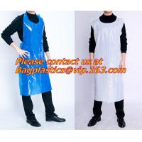 Plastic White Embossed Disposable Pe Aprons/plastic apron/disposable apron,Spa and Beauty Items PROTECTIVE PRODUCTS PAC Manufactures