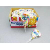 11g Marshmallow Lollipop Colorful Shape Taste Sweet and Soft Give You A Wonderful Feeling Manufactures