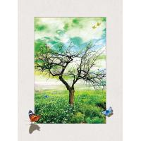 Four Season Tree 5d Lenticular Pictures 0.6mm Pet 30*40cm Painting Poster Manufactures