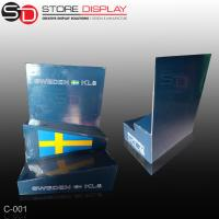 custom special two tiers counter display stand box Manufactures