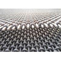 65Mn High Carbon Steel Crimped Wire Mesh Screen Anti Rust For Mine Machine Manufactures