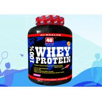 Strawberry flavor Protein Supplements Products with instance BCAA Manufactures