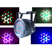 High Lumen Outdoor LED Par 36 x 3w RGB Lighting Waterproof Par Cans for Concert Party Show Par Lights Manufactures