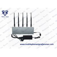 Quality UHF Audio Mobile Phone Signal Jammer 8W ± 500mA Total Transmit Power CE Certificated for sale