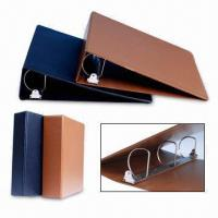 PVC 3-D Ring Binders with Inner Pockets for Cards Storage Manufactures