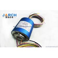 25.4mm Through Bore Electrical Slip Ring / Rotary Slip Ring With 2 - 36 Circuits , OD 78mm Manufactures