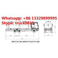 China 2019s 20,000Liters 45gallons mobile propane gas transported tank truck for sale, dongfeng 210hp bobtail truck for sale on sale