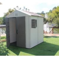 China outdoor plastic garden shed on sale