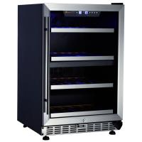 China S.S door with S.S cover shelves Wine Cooler on sale