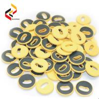 High quality Round shape Waterproof RFID UHF Button Laundry Tag Manufactures