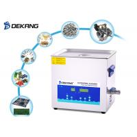 China 10 L Dental Ultrasonic Cleaner SUS304 Ultrasonic Cleaning Machine For Laboratory on sale