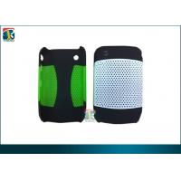 China Hybrid 2in1 Mesh Case / Silicon Cover For Blackberry Curve 8520 Protective Case on sale