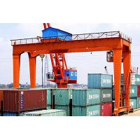 China Container Rail Mounted Gantry Crane Double Beam , Electric Mobile Gantry Crane on sale