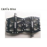 High Bearing Electric Motorized Bicycle Parts And Accessories Aluminum Alloy Pedals Manufactures