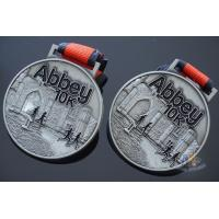 China Custom Abbey 10k Marathon Swimming Sport Award Medals 3D Effect Model Medallion on sale