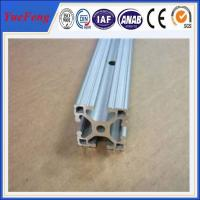customized aluminium channel extrusion, 45x45 quality aluminum profile china supplier Manufactures
