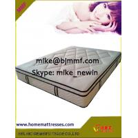 China Euro top queen size mattress with comfortable cover for better sleep on sale
