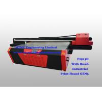 China Industrial Flatbed UV Printer With Ricoh GEN5 High Speed Print Head on sale