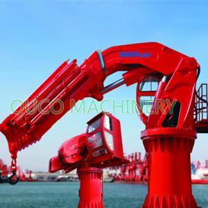 5T CCS Telescopic Knuckle Boom Offshore Pedestal Cranes Manufactures