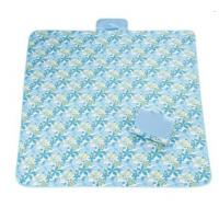 Easy To Carry Waterproof Beach Mat , Water Resistant Beach Blanket Foldable Manufactures