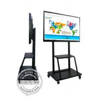 85 Inch 4k Big Education School Digital Tv Conference Room Interactive Flat Board For Video Meeting Manufactures