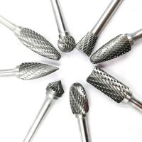 Customized Tungsten Carbide Burr Bits Metal Removal Carbide Burrs Manufactures