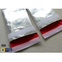 Fireproof Document Bag 1022℉ Fire Resistant Pouch Non Irritating Heat Reflective Manufactures