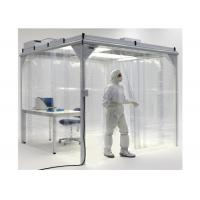 China Cleanroom Project Softwall Modular Cleanrooms For Biological Engineering on sale