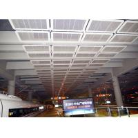 Interior Galvanized Iron Wire Expanded Metal Mesh Ceiling , Powder Coating Suspended Metal Ceiling Tiles Manufactures