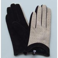 Lady′s Pig Suede Gloves Manufactures