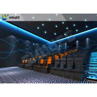 Professional 4D Cinema Equipment With Special Effects And Movement Chairs Manufactures
