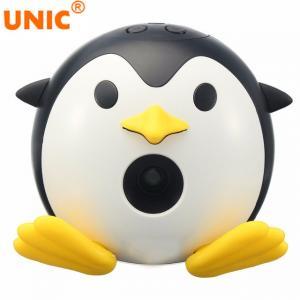 Wholesale 2018 UNIC Q1 Mini DLP Projector Portable Cute Penguin LED Projector Home Cinema Video Cartoon Beamer Manufactures