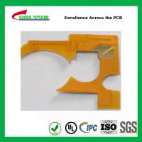 IPC Standard Flexible PCB Thickness 1mil with Plaing Gold PI Material Manufactures