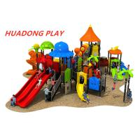 Quality Animal Paradise Series Outdoor Playground Slides , Kids Playground Equipment for sale