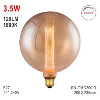 Buy cheap G200 Bulb, Decorative Light, E27 LED Bulb, Fashionable Glass Bulb, Energy Saving Lamp from wholesalers