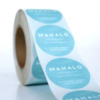 High Quality Custom Self Adhesive Vinyl Stickers Labels Custom Labels on A Roll Printing Labels Manufactures