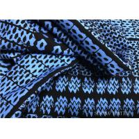 China Lycra Material Performance Knit Fabric , Digital Printing Sport Knit Fabric on sale