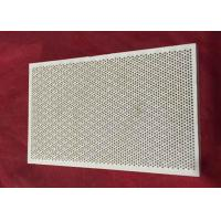 155 * 95 MM Infrared Honeycomb Heat Resistant Ceramic Plate Flameless Porous Cordierite Manufactures
