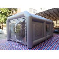 Portable Waterproof Inflatable Car Paint Spray Booth With Cotton Filter Manufactures