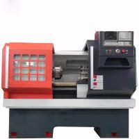 CK Series CNC Horizontal Lathe Machine FANUC Flat Bed Type Specification Manufactures