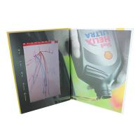 Video IN Folder 10.1 inch 4GB memory video brochure card with touch screen  USB cable free provided Manufactures