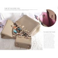 high quality black women 30cm Lychee cowhide leather handbags purses HY-20 Manufactures