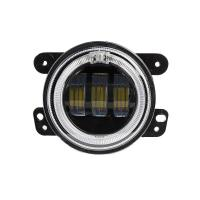 4 inch 30 W 2400LM Car LED Fog Lights With Halo Ring DRL for jeep wrangler JK Manufactures