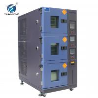 Air Cooling Type 3-layer Climatic Temperature Humidity Test Chamber Manufactures