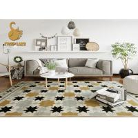 Breathable Printed Indoor Area Rugs For Living Room Easy To Clean Manufactures