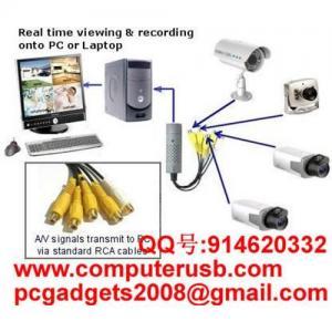 USB Video Capture Card Easycap CCTV USB DVR Manufactures